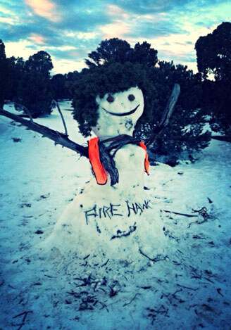 RCA-Snowman